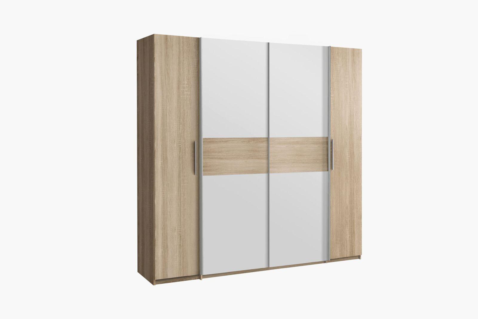 kleiderschrank calido kleiderschr nke schlafzimmer sortiment pack zu m bel sb und k chen. Black Bedroom Furniture Sets. Home Design Ideas