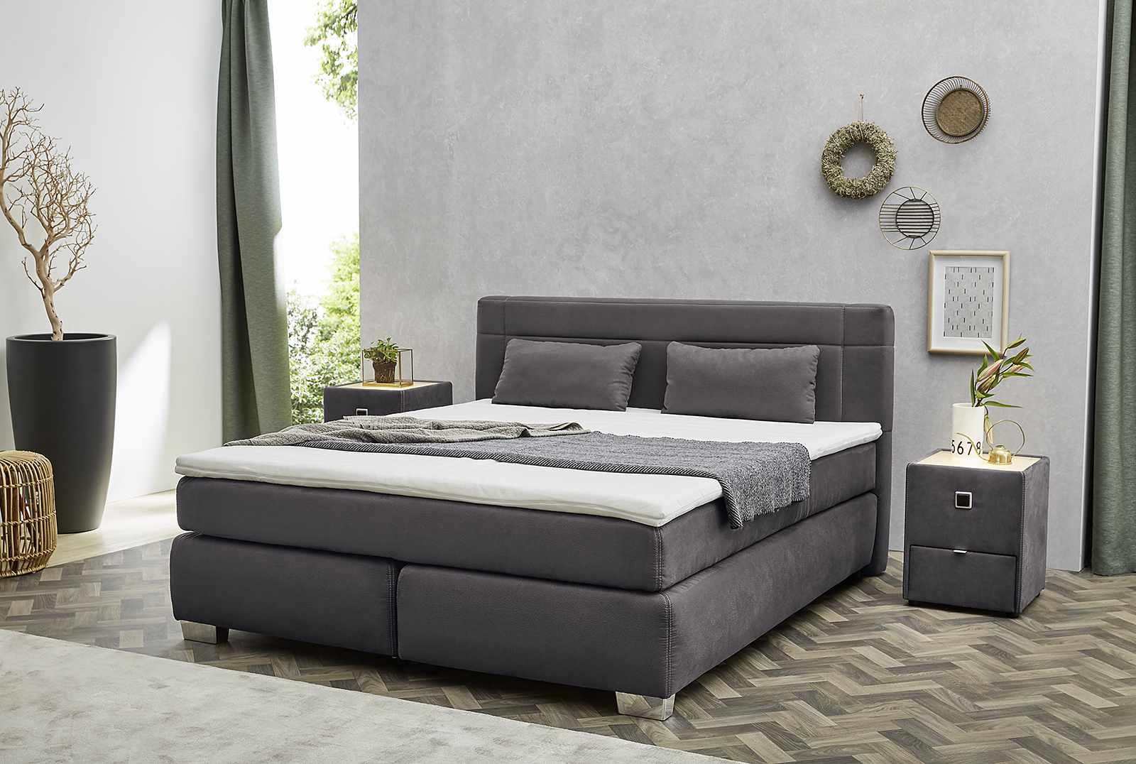 boxspringbett romana mix boxspringbetten boxspring sortiment pack zu m bel sb und k chen. Black Bedroom Furniture Sets. Home Design Ideas