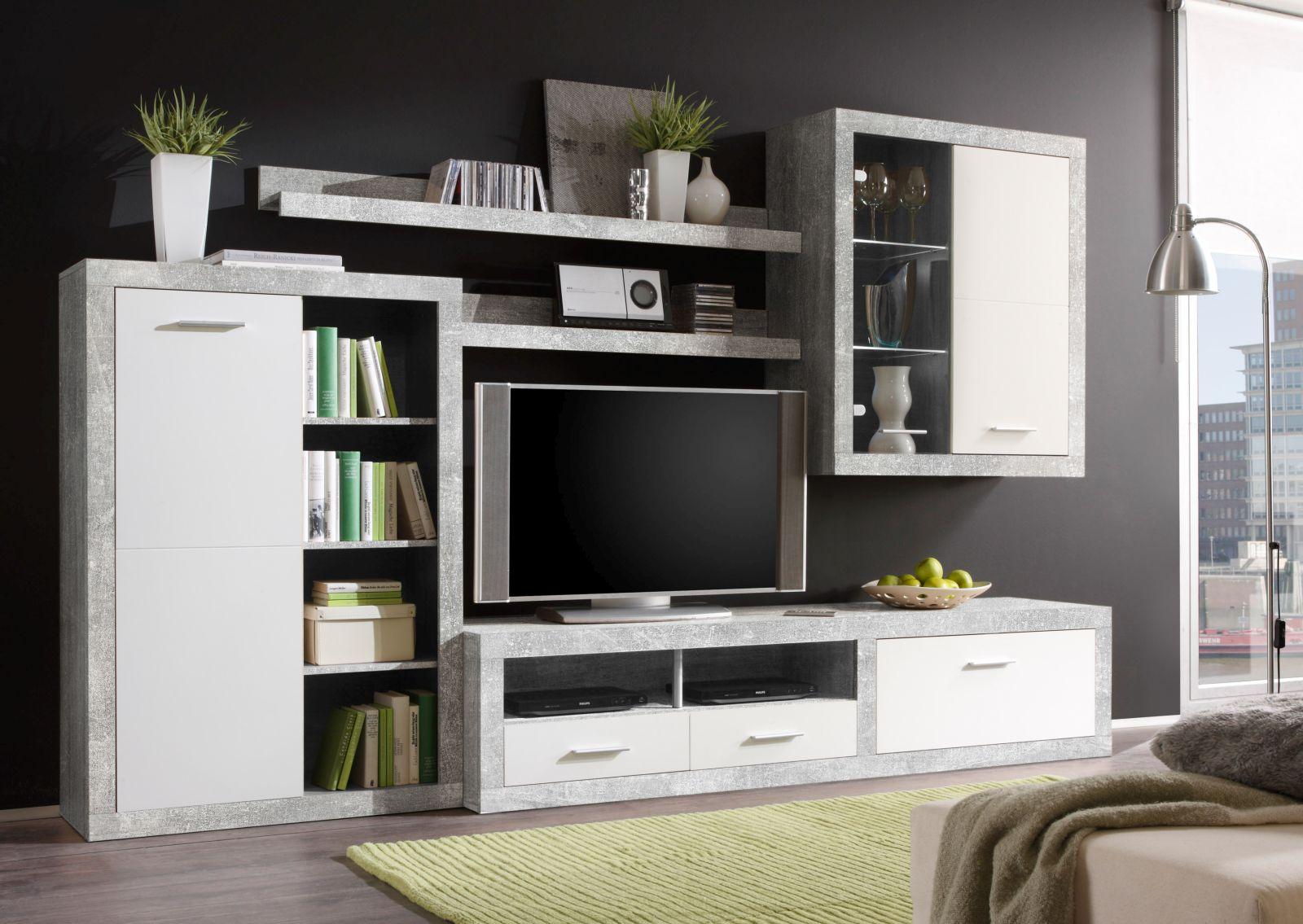 anbauwand can can 1 wohnw nde wohnzimmer sortiment pack zu m bel sb und k chen discount. Black Bedroom Furniture Sets. Home Design Ideas