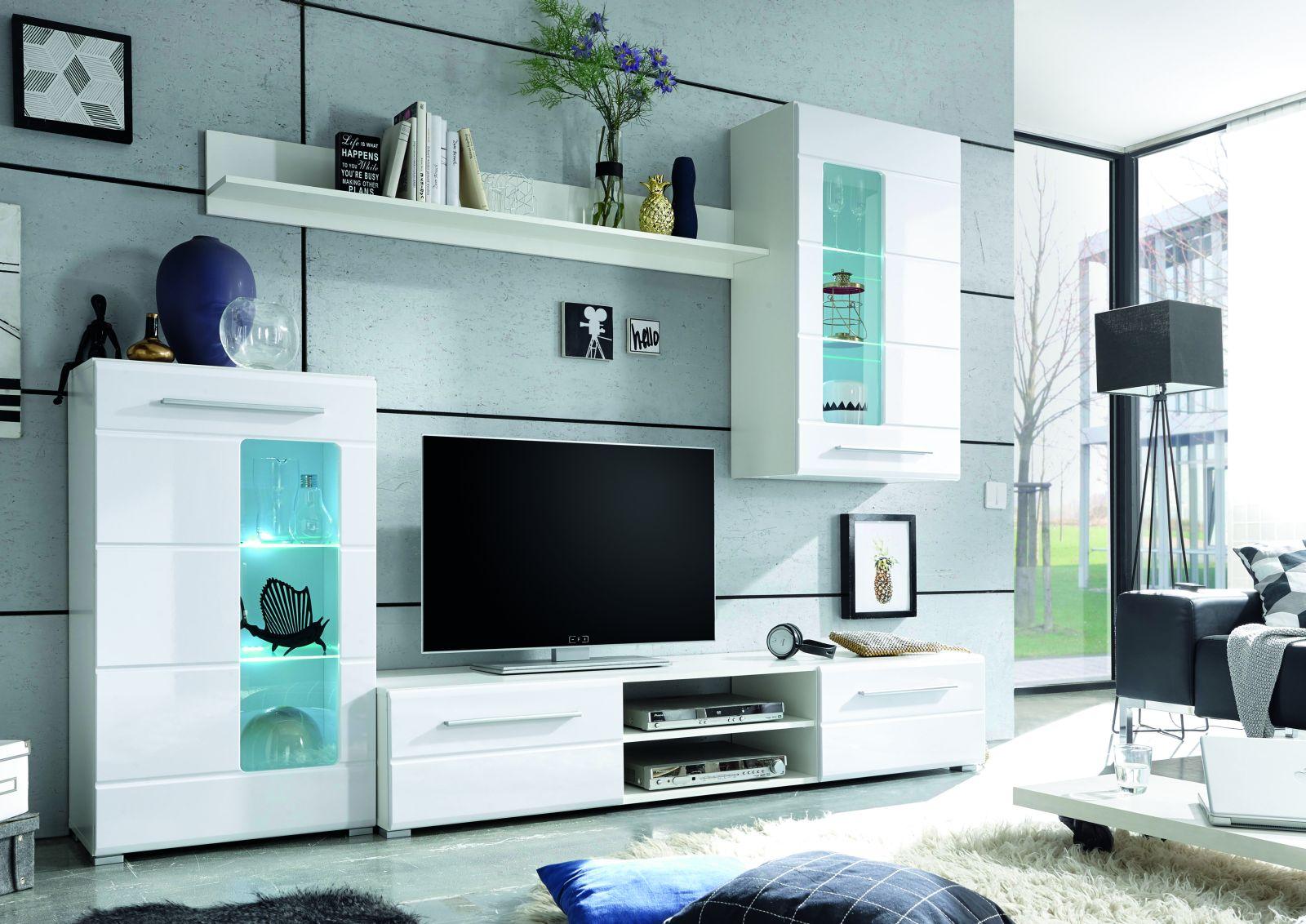wohnwand enrique wohnw nde wohnzimmer sortiment pack zu m bel sb und k chen discount. Black Bedroom Furniture Sets. Home Design Ideas
