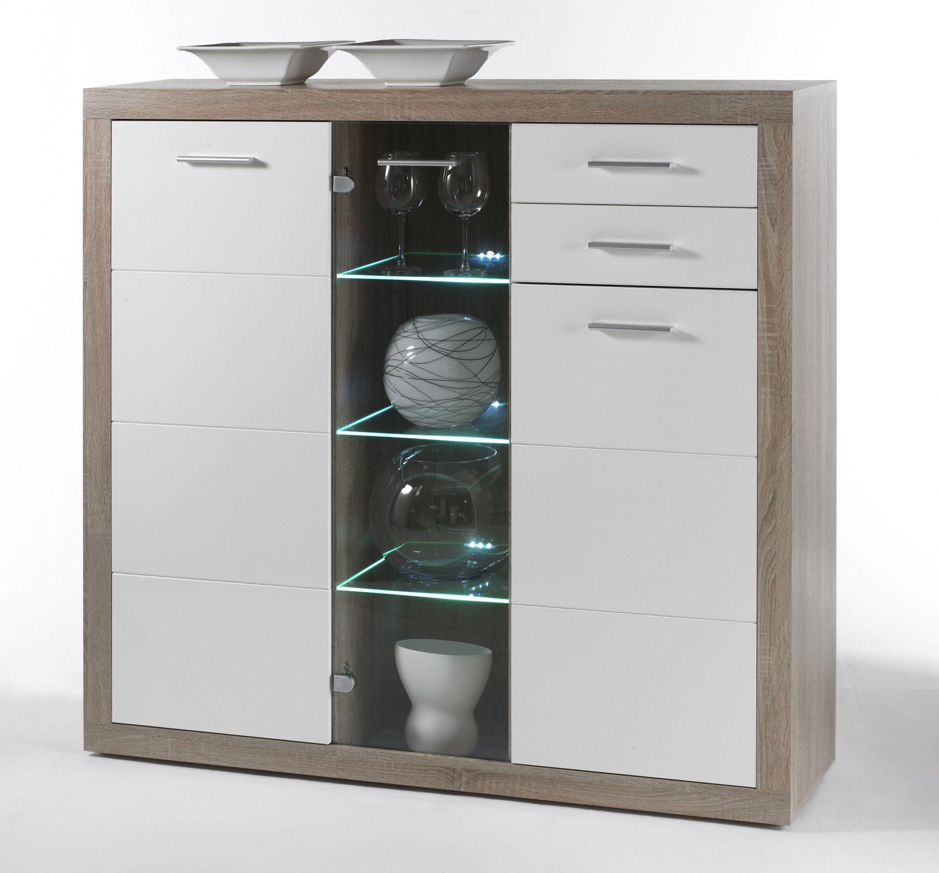highboard cancan t2 wohnprogramme wohnzimmer. Black Bedroom Furniture Sets. Home Design Ideas