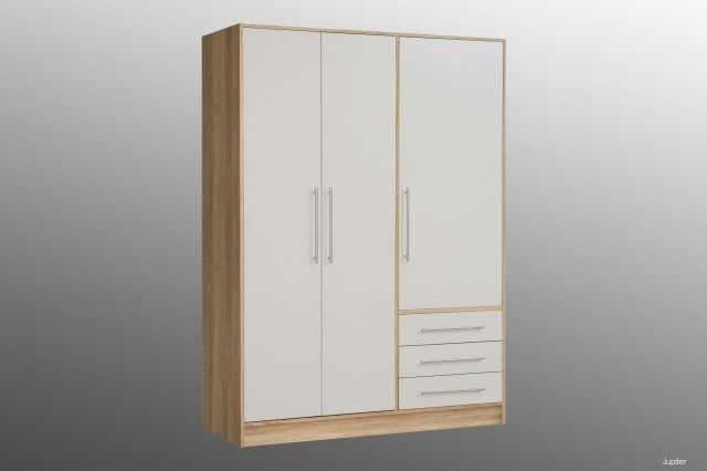 kleiderschrank jupiter kleiderschr nke schlafzimmer. Black Bedroom Furniture Sets. Home Design Ideas