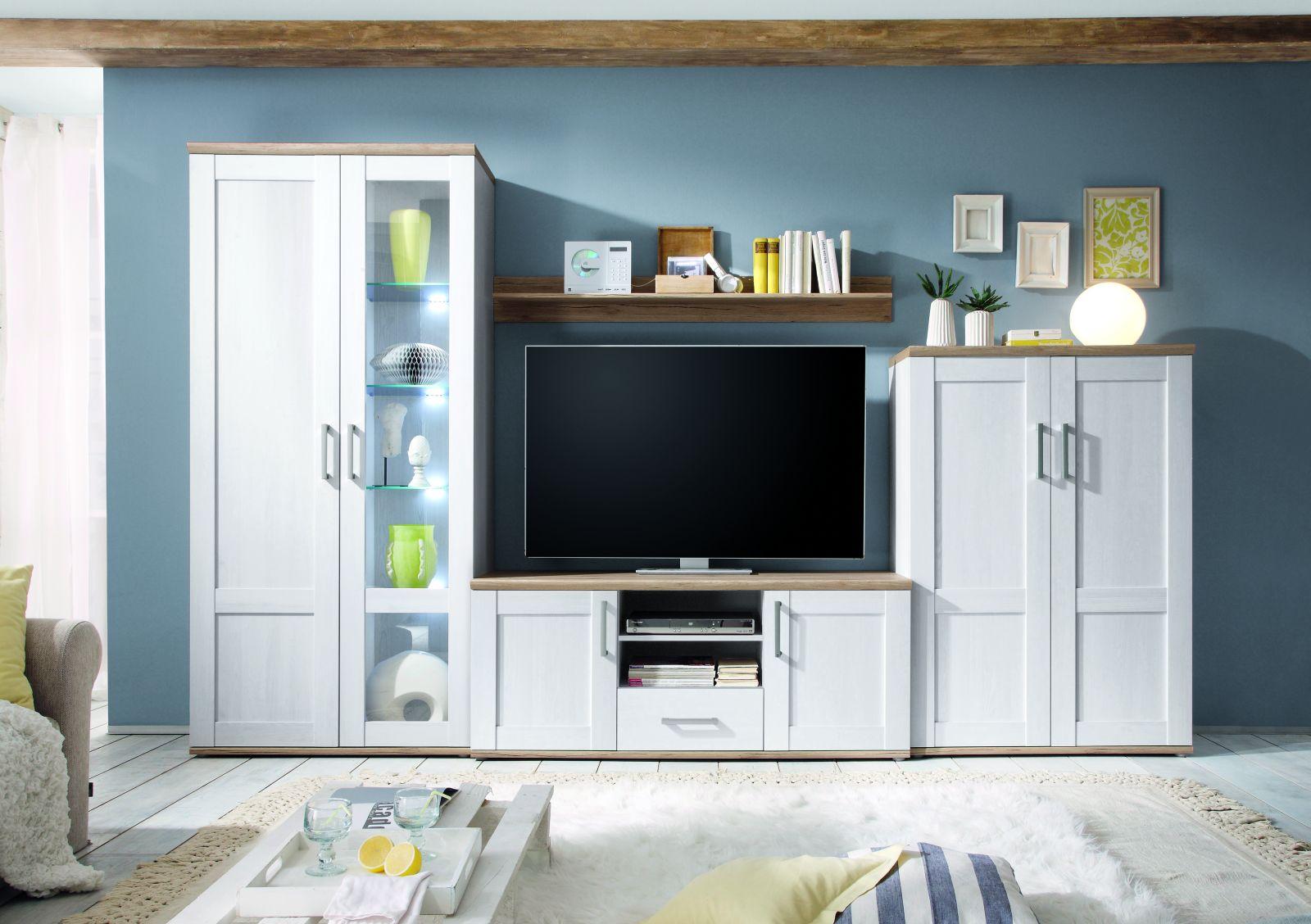 anbauwand romance wohnw nde wohnzimmer sortiment pack zu m bel sb und k chen discount. Black Bedroom Furniture Sets. Home Design Ideas